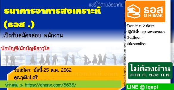 ธนาคารอาคารสงเคราะห์(ธอส